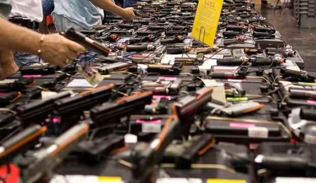 ABD'de 10 ayda rekor silahlanma