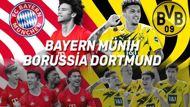 Bayern Münih Borussia Dortmund CANLI İZLE: Şifresiz YouTube Almanya Süper Kupası maçı: Kanal D canlı!