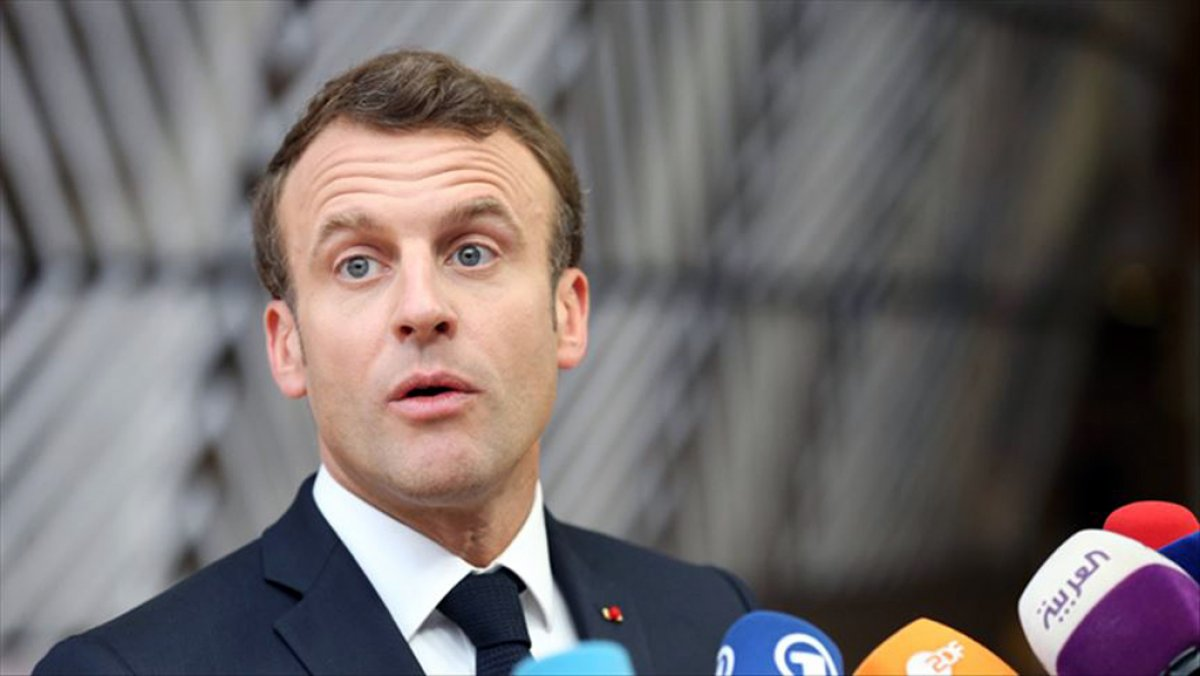 Fas ta Macron un ülke topraklarına girmesi halinde yakalanması talep edildi #1
