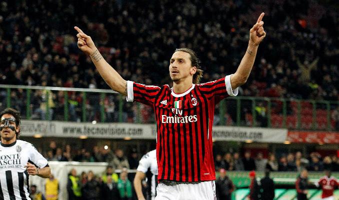 Ibrahimovic 1 yıl daha Milan'da