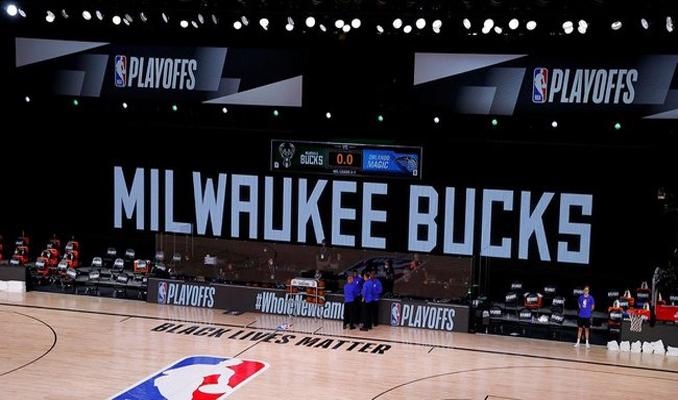 NBA'de ırkçı saldırılar nedeniyle maçlar ertelendi
