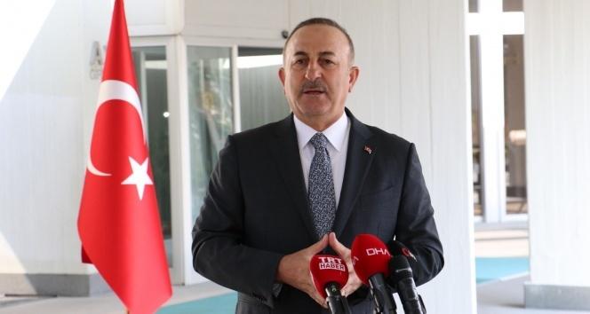 Dışişleri Bakanı Mevlüt Çavuşoğlu, Gürcistan Dışişleri Bakanı David Zalkaliani ile görüştü