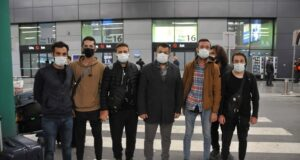 Dubai'de mahsur kalan Türk işçiler yurda döndü