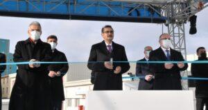 Eskişehir Kırka Tesisi'nde bulunan ETİ Maden Lityum Üretim Tesisi açıldı