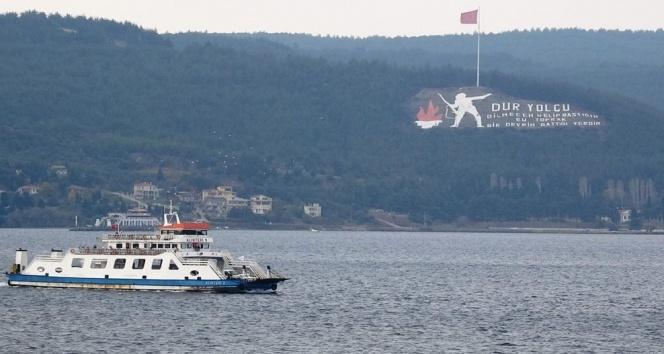 Gökçeada'ya yarınki feribot seferleri iptal edildi