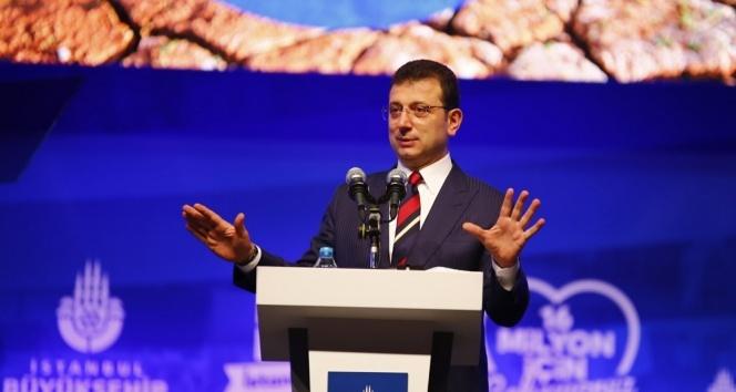 İBB Başkanı Ekrem İmamoğlu'ndan su kesintisi açıklaması