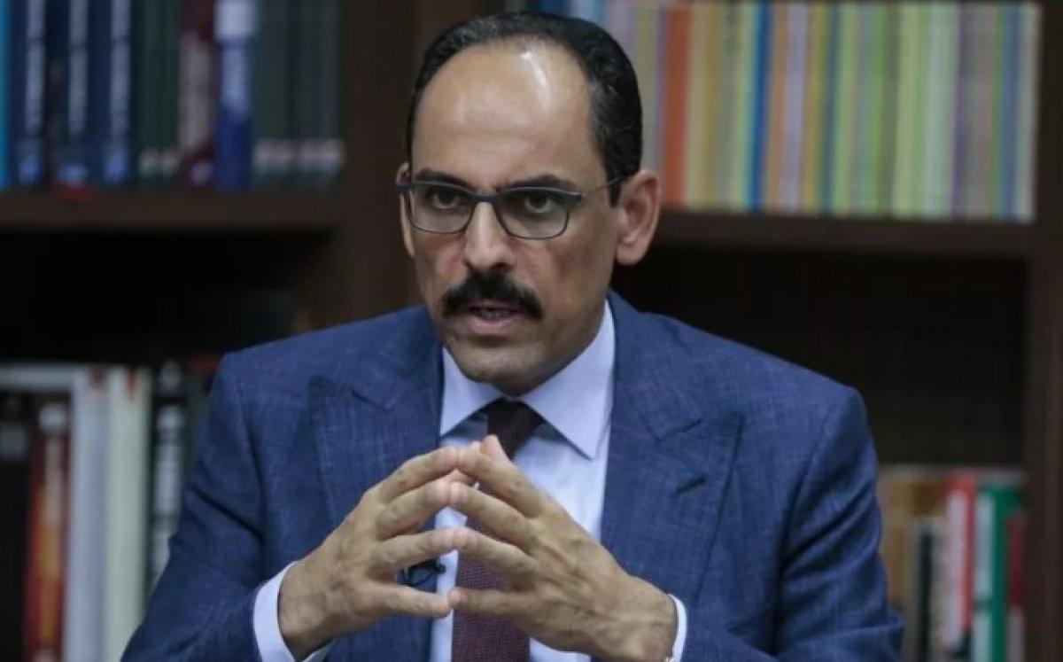İbrahim Kalın: Türkiye'nin AB'ye tam üyeliği önceliğimiz #1