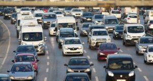 İstanbulda kısıtlama öncesi trafik yoğunluğu rekor seviyede