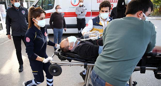 Sağlık çalışanı para vermediği için bıçaklandı