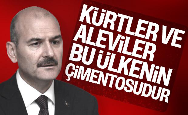 Süleyman Soylu: Kürtler ve Aleviler, bü ülkenin çimentosu