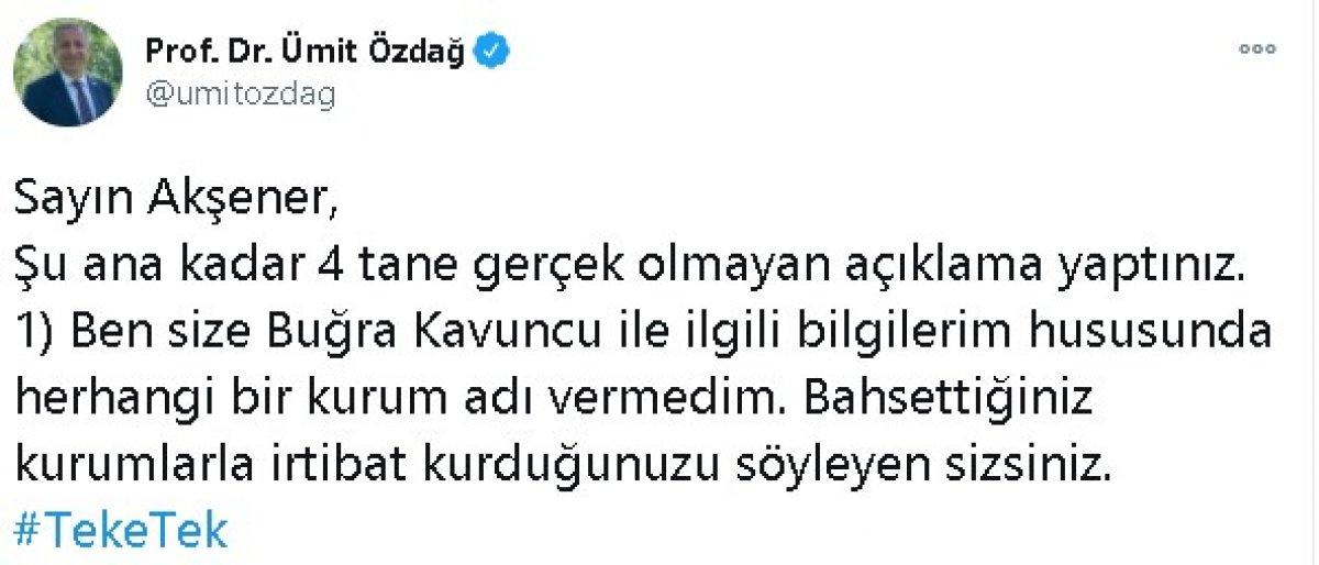Ümit Özdağ dan Meral Akşener e: 4 gerçek dışı açıklama #1