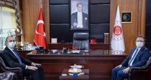 Adalet Bakanı Gül'den İstanbul Başsavcısı'na ziyaret