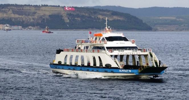 Bozcaada'ya yarınki tüm feribot seferleri iptal