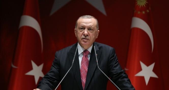 Cumhurbaşkanı Erdoğan video konferans yöntemi ile Diyarbakır'daki açılışa katıldı
