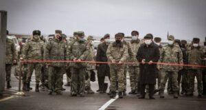 Dağlık Karabağ'da ateşkesi korumak için görev yapacak olan Türkiye-Rusya Ortak Merkezi açıldı
