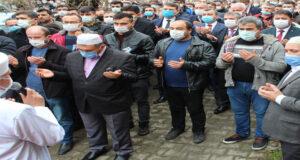 Maden işçisi dualarla son yolculuğuna uğurlandı