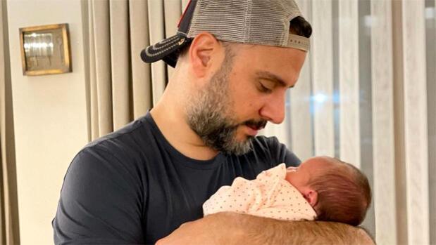 Alişan ve Eliz'den yeni fotoğraf: Kız babası olmak kolay değil!