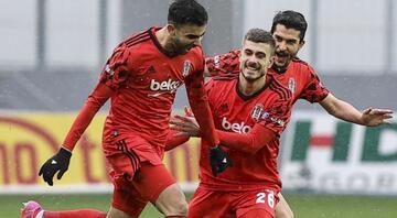 Gençlerbirliği Beşiktaş maçında Rachid Ghezzal sakatlandı Cenk Tosun ilk kez...