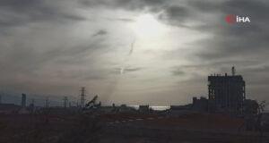 İskenderun Körfezi'nde oluşan hortum kameralara yansıdı