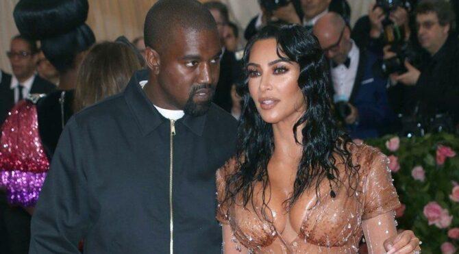 Kim Kardashian, Kanye West'ten boşanma planını yaptı