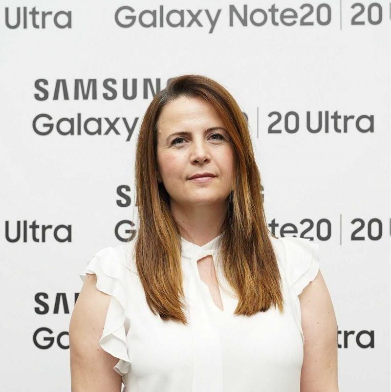 Samsung Electronics Türkiye Mobil Ürünler ve Stratejiden Sorumlu Direktör Sedef Özgür