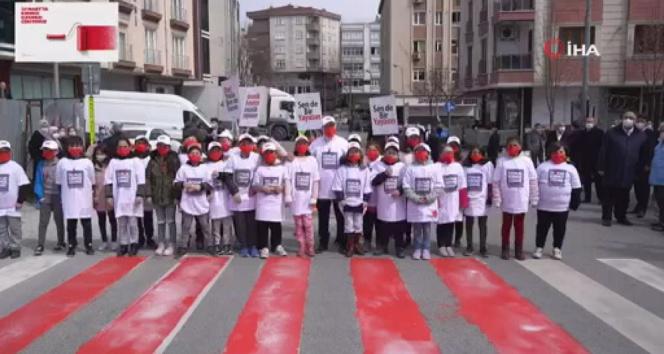 Bayrampaşalı çocuklardan İçişleri Bakanı Soylu'ya mesaj