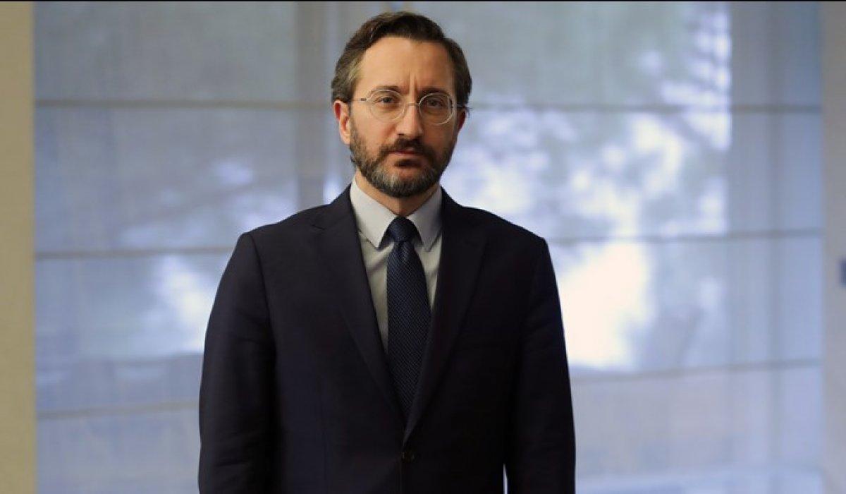 Fahrettin Altun: Cumhurbaşkanımıza iftira atmanın adı siyaset değildir #1