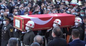 Kırıkkaleli şehit Astsubay Kıdemli Üstçavuş Ömer Umulu son yolculuğuna uğurlandı