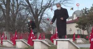 Milli Savunma Bakanı Akar, Romanya'daki Türk şehitliğini ziyaret etti