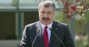 Bakan Koca: 'Türkiye-Arnavutluk Fier Dostluk Hastanesi'ni 68 günde bitirdik'