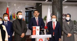Bakan Kurum: 'Ankara'ya 4 milyon metrekare büyüklüğünde 19 tane millet bahçesi yapıyoruz'