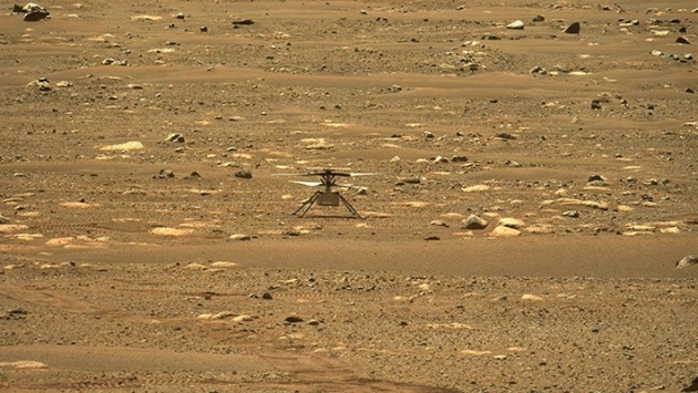 NASA helikopteri Ingenuity, Mars'ta ilk uçuşunu yaptı