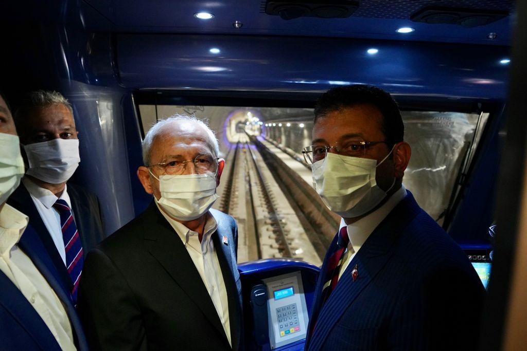 Ataköy - İkitelli Olimpiyat metro hattının 2 istasyonu hizmete açıldı