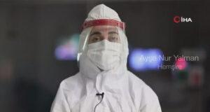Bakan Koca, sağlık çalışanlarının bayram mesajını paylaştı