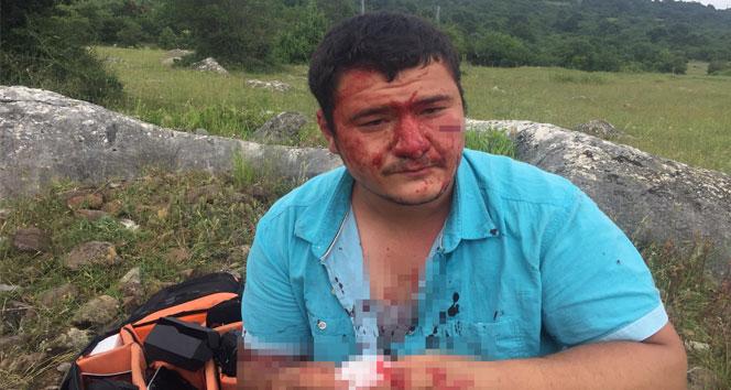İHA muhabiri Usluya yapılan saldırıya kınamalar artıyor