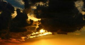 Samandağ'da gün batımı adeta büyüledi