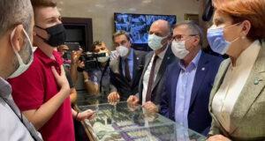 Tezgah arkasındaki kişi esnaf değil, CHP üyesi çıktı