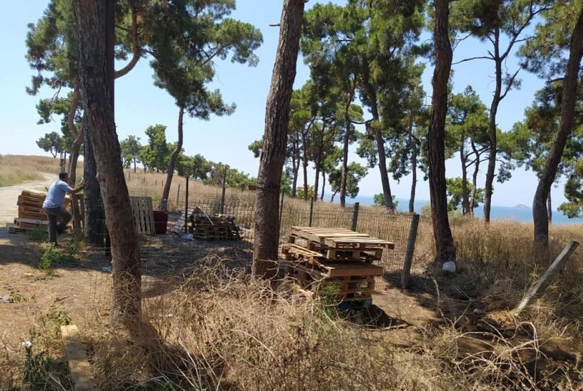 Adalar'a tahsis edilen tek kurban kesim alanına Adalılardan tepki