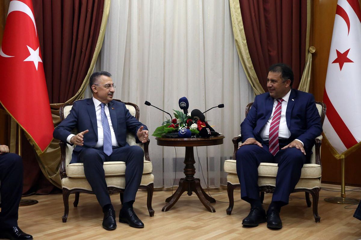 """Cumhurbaşkanı Yardımcısı Oktay: """"20 Temmuz Rum-Yunan ikilisinin oyununa son verildiği tarihtir"""""""