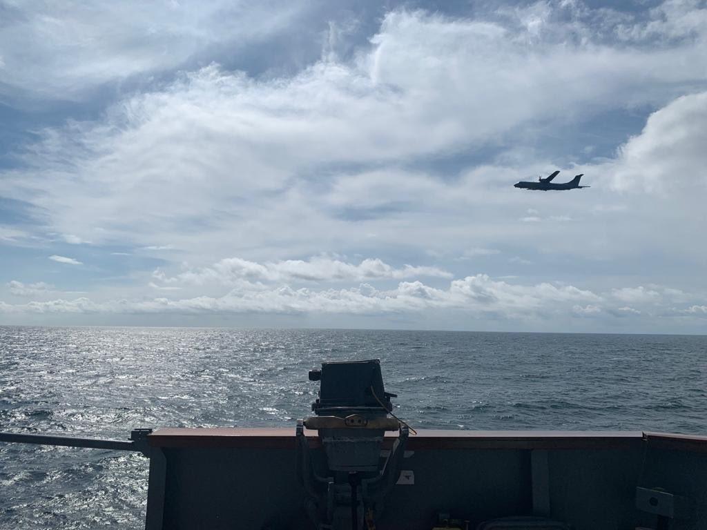 """MSB: """"Mavi Vatan'da P-72 deniz karakol uçakları başarıyla icra edildi"""""""