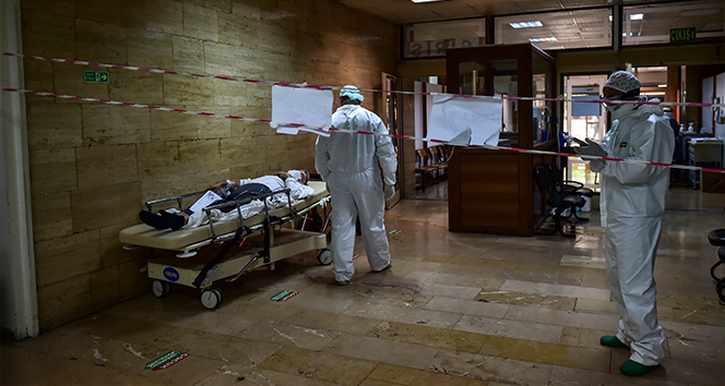 Son 24 saatte korona virüsten 46 kişi hayatını kaybetti