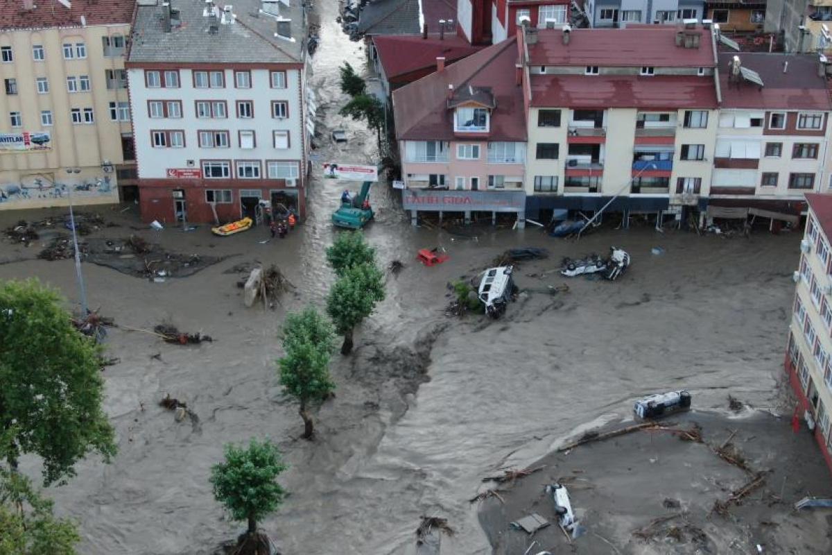 AFAD: 'Yaşanan sel nedeniyle 82 vatandaşımız hayatını kaybetmiştir'
