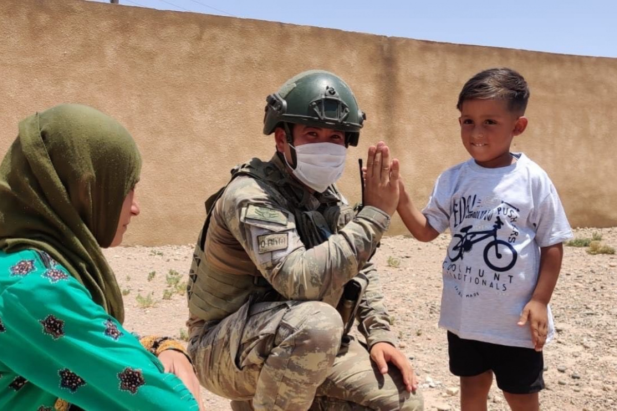 MSB: Çocukların yüzünün gülmesi için terör örgütleriyle mücadele etmekten geri durmayacağız
