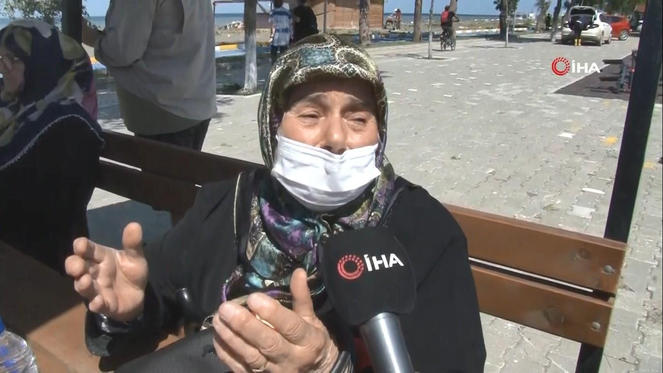 Selde helikopter ile kurtarılan vatandaşlar dehşet anlarını anlattı