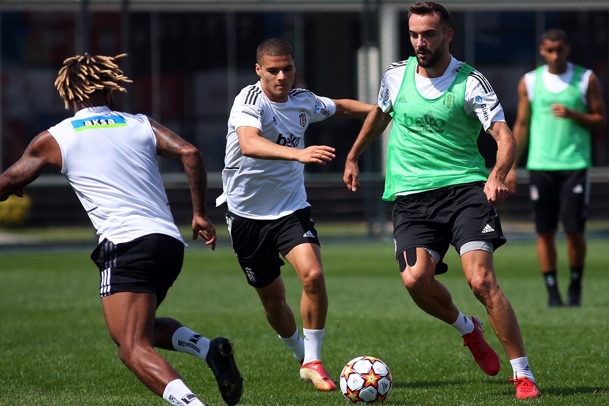 Beşiktaş, Borussia Dortmund hazırlıklarını sürdürdü