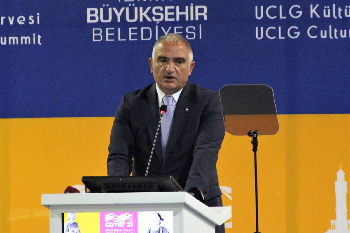 """Kültür ve Turizm Bakanı Ersoy: """"Çevre açısından gidişat iyi değil"""""""