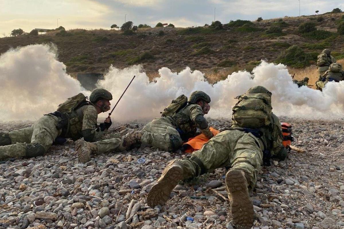 MSB: 'Amfibi Görev Grup Komutanlığı Harekâta Hazırlık Eğitimleri başarılı şekilde icra edildi'