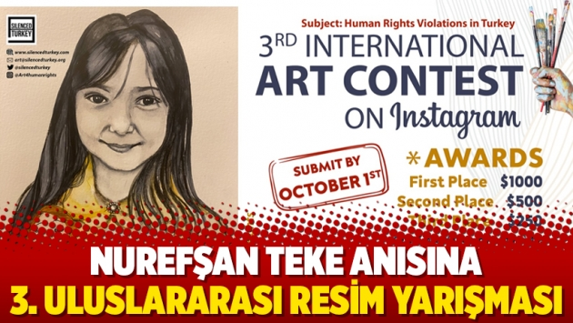 Nurefşan Teke anısına 3. uluslararası resim yarışması