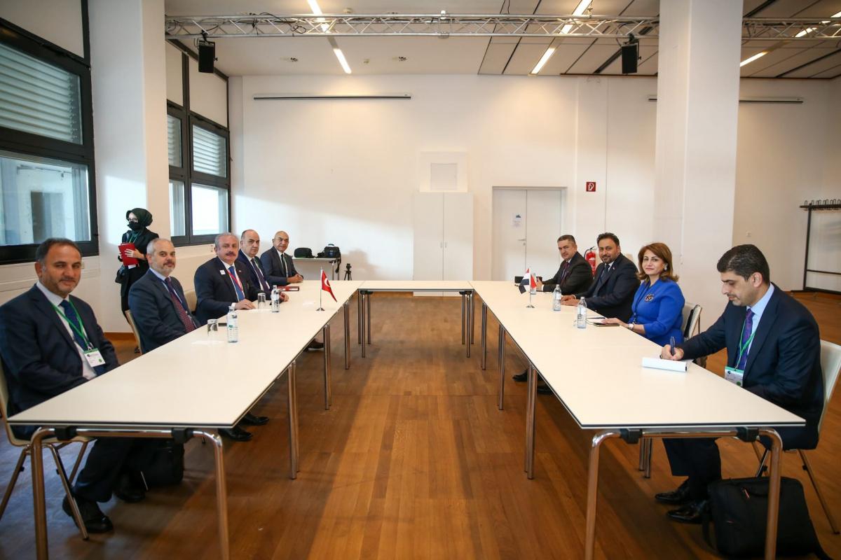 TBMM Başkanı Şentop, Viyana'da temaslarını sürdürüyor